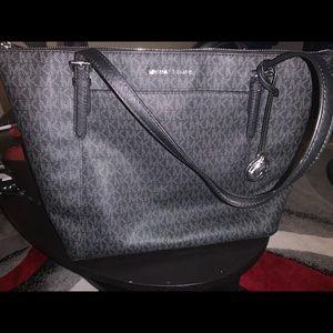 Michael Kors purse. large, black